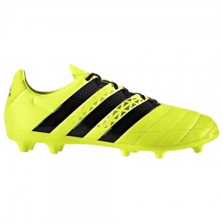 Adidas Ace 16.3 Leather Firm Ground Boots Yellow